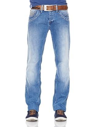 Pepe Jeans London Pantalón Vaquero Tooting Ot (Azul)
