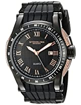 Stuhrling Original Analog Black Dial Men's Watch - 916.02