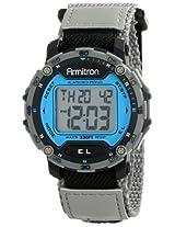 Armitron Sport Men's 40/8291BLGY Grey Strap Digital Chronograph Watch