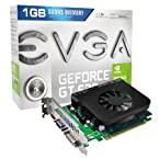 EVGA GeForce GT 630 1024MB GDDR5, DVI, VGA and HDMI Graphics Card 01G-P3-2632-KR