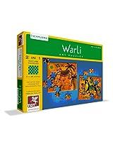 ToyKraft Warli Art Puzzle 2 in 1