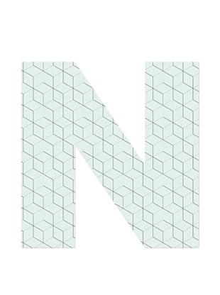 Letra Decorativa Letra N