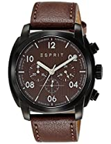 Esprit Analog (BROWN) Dial Men's Watch - ES107551002
