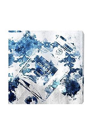 Oliver Gal Blue Flower Scent Canvas Art