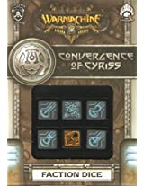 Q Workshop Spwa50 Warmachine Convergence Of Cyriss Dice Set 6