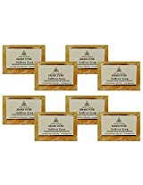 Khadi Pure Saffron Soap - 125g (Set of 8)
