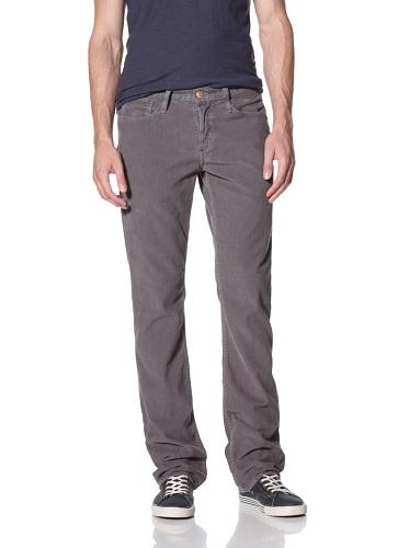 Earnest Sewn Men's Fulton Straight Leg Corduroy Pants (Fall Grey)