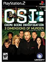 CSI: 3 Dimensions of Murder - PlayStation 2