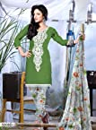 Triveni Sarees Fancy Printed Salwar kameez With Dupatta - 5008d