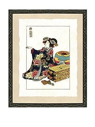 Art Source Geisha Fashion Print III, Multi