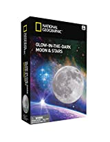 National Geographic Glow In The Dark Moon And Stars Science Kit