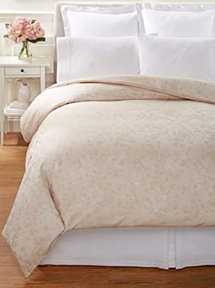 Home Treasures Elegance Jacquard Duvet Cover (Blush)