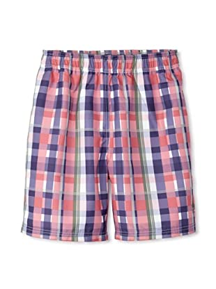 French Connection Men's Tiger Swim Trunks (Dusty Blood)