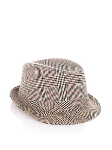 Fore!! Axel and Hudson Boy's Mini Houndstooth Check Fedora (Houndstooth Check)