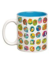 Alphabets with Illustrations Double Color