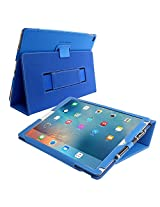 iPad Pro Case, Snugg™ - Smart Cover with Flip Stand & Lifetime Guarantee (Electric Blue) for Apple iPad Pro (2015)