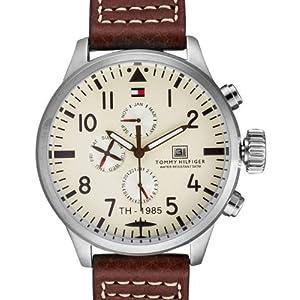 Tommy Hilfiger Chronograph Beige Dial Men's Watch - NTH1790684J