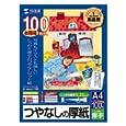 SANWA SUPPLY インクジェットプリンタ用厚紙(大容量) JP-AGA4-100 サンワサプライ