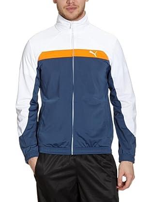 Puma Jacke Track (dark denim-vibrant orange)