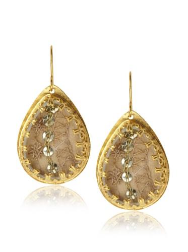 Presh Gold & Deva Teardrop Earrings