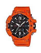 Casio G-Shock Analog Black Dial Men's Watch - GW-A1100R-4ADR(G621)