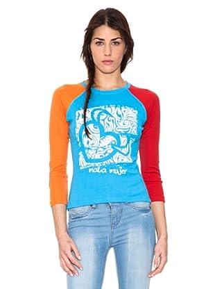 Mala Mujer Camiseta Electra (Turquesa)