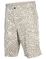 Jordan Men's Nike Fragmented Camo Jumpman Cargo Shorts-Beige-34
