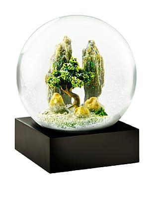 CoolSnowGlobes Rock Garden Snow Globe