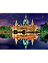 Buffalo Games Reflections: New Town Hall, Hanover, Germany Jigsaw Bigjigs Puzzle (750 Piece)