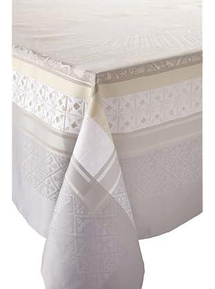 Garnier-Thiebaut Isaphire Table Cloth (Platine)