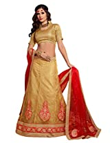 Beautifull Dazzling red and beige Jacquard - ALS52005