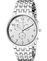 Skagen Ancher Analog White Dial Men's Watch - SKW6231