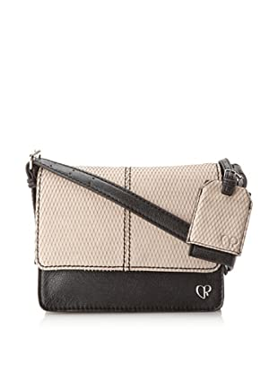 Charlotte Ronson Women's Diamond Cut Cross-Body (Stone)