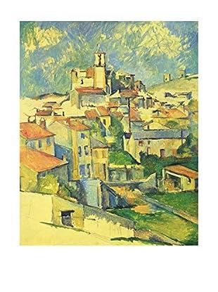 Legendarte Leinwandbild Gardanne di Paul Cezanne