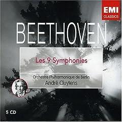 輸入盤CD アンドレ・クリュイタンス指揮 ベートーヴェン:交響曲全集(5枚組)の商品写真