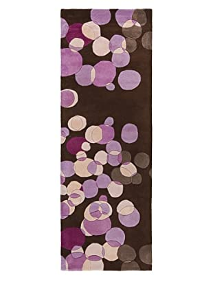 Chandra Avalisa Rug, Brown/Purple, 2' 6