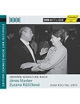 Bach:Janos Starker Plays [Janos Starker; Zuzana Ruzickova] [HANSSLER CLASSIC: 93.726]