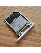ssimpex® White Sim Card Tray Holder Repair Parts for Nokia Lumia 928 (White)