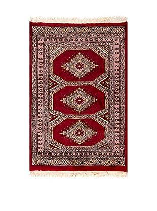 RugSense Alfombra Kashmir Rojo/Multicolor 87 x 59 cm