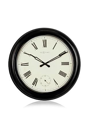 NeXtime Waterloo Wall Clock (Black)