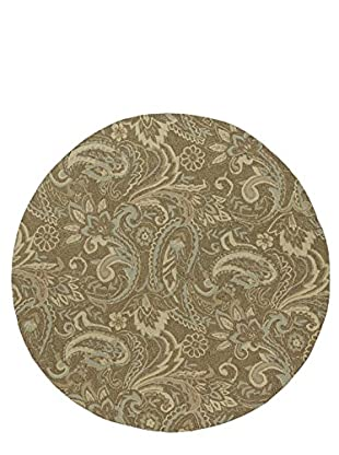 Kaleen Home & Porch Indoor/Outdoor Rug, Mocha, 5' 9
