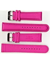 Invicta Genuine 24mm Hot Pink Micro Fiber Lorica Watch Strap IS40