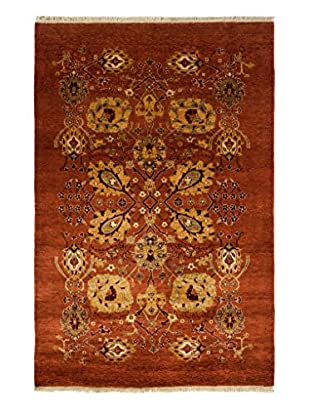 Darya Rugs Traditional Oriental Rug, Rose, 4' 1