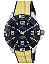 Aveiro Analog Yellow Dial Men's Watch - AV71YLW