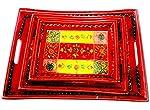 Jodhpuri's Set Of 3 Trays