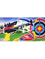 Super Crossbow Set (Real Action) with Infrared & Target