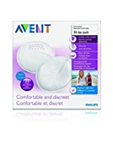 Philips Avent Breast Care Disposable, Day Breast Pads - SCF254/30
