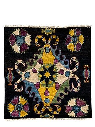 Darya Rugs Kaitag Oriental Rug, Black, 4' x 3' 10