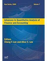 Advances in Quantitative Analysis of Finance and Accounting