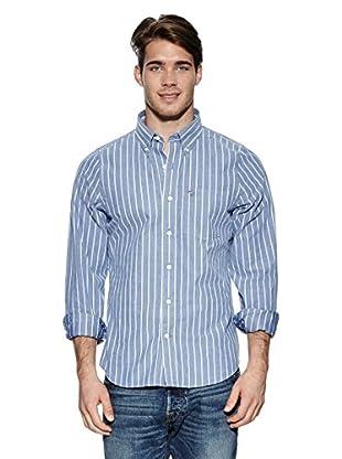 Abercrombie & Fitch Hemd Classic Oxford (blau)